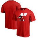Philadelphia Phillies Fanatics Branded Disney Fly Your Flag T-Shirt - Red