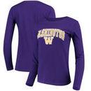Washington Huskies Fanatics Branded Women's Campus Long Sleeve T-Shirt – Purple