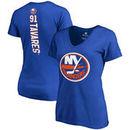 John Tavares New York Islanders Fanatics Branded Women's Plus Size Backer Name & Number V-Neck T-Shirt – Royal