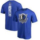 Dirk Nowitzki Dallas Mavericks Fanatics Branded Backer Big & Tall T-Shirt - Blue
