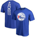 Joel Embiid Philadelphia 76ers Fanatics Branded Backer Big & Tall T-Shirt - Royal
