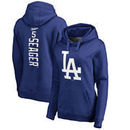 Corey Seager Los Angeles Dodgers Fanatics Branded Women's Backer Pullover Hoodie - Royal