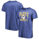 St. Louis Blues Fanatics Branded Vintage Collection Old Favorite Shadow Washed T-Shirt - Royal