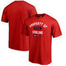 USA Curling Fanatics Branded Property Of T-Shirt - Red