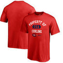USA Curling Fanatics Branded Youth Property Of T-Shirt - Red