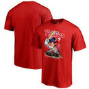 Philadelphia Phillies Fanatics Branded Youth Disney All Star T-Shirt - Red