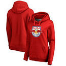 New York Red Bulls Fanatics Branded Women's Primary Logo Pullover Hoodie - Red