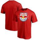 New York Red Bulls Fanatics Branded Primary Logo T-Shirt - Red