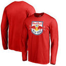 New York Red Bulls Fanatics Branded Primary Logo Long Sleeve T-Shirt - Red