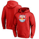 New York Red Bulls Fanatics Branded Primary Logo Pullover Hoodie - Red
