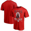 Cincinnati Reds Fanatics Branded Roll Deep with the Empire T-Shirt - Red