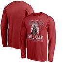 Arizona Diamondbacks Fanatics Branded Roll Deep with the Empire Long Sleeve T-Shirt - Red