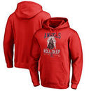Los Angeles Angels Fanatics Branded Roll Deep with the Empire Pullover Hoodie - Red