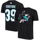 Logan Couture San Jose Sharks adidas Name & Number T-Shirt - Black