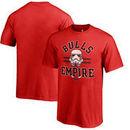 Chicago Bulls Fanatics Branded Star Wars Empire Tri-Blend T-Shirt - Red