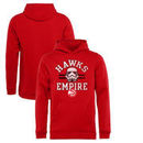 Atlanta Hawks Fanatics Branded Youth Star Wars Empire Pullover Hoodie - Red