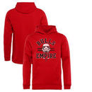 Chicago Bulls Fanatics Branded Youth Star Wars Empire Pullover Hoodie - Red