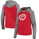 U.S. Paralympics Nike Women's All Time Long Sleeve Performance Hoodie – Red/Gray