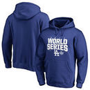 Los Angeles Dodgers Fanatics Branded 2017 World Series Bound Chopper Pullover Hoodie - Royal