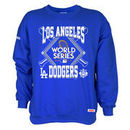 Los Angeles Dodgers Stitches 2017 World Series Bound Pullover Crewneck Sweatshirt - Royal