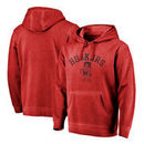 Nebraska Cornhuskers Fanatics Branded Vault Arch Over Logo Shadow Washed Pullover Hoodie - Red