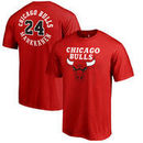 Lauri Markkanen Chicago Bulls Fanatics Branded Round About Name & Number T-Shirt - Red