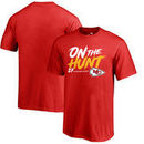 Kareem Hunt Kansas City Chiefs NFL Pro Line by Fanatics Branded Youth Hometown Collection On The Hunt T-Shirt - Red