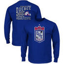 Quebec Nordiques Majestic Double Minor Long Sleeve T-Shirt – Royal