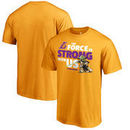 Los Angeles Lakers Fanatics Branded Star Wars Jedi Strong T-Shirt - Gold