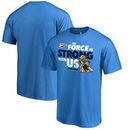 Oklahoma City Thunder Fanatics Branded Star Wars Jedi Strong T-Shirt - Blue