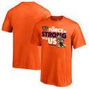 Phoenix Suns Fanatics Branded Youth Star Wars Jedi Strong T-Shirt - Orange