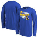 Golden State Warriors Fanatics Branded Youth Star Wars Jedi Strong Long Sleeve T-Shirt - Royal