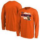 Phoenix Suns Fanatics Branded Youth Star Wars Jedi Strong Long Sleeve T-Shirt - Orange