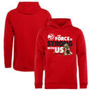 Atlanta Hawks Fanatics Branded Youth Star Wars Jedi Strong Pullover Hoodie - Red