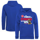 Detroit Pistons Fanatics Branded Youth Star Wars Jedi Strong Pullover Hoodie - Royal