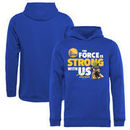 Golden State Warriors Fanatics Branded Youth Star Wars Jedi Strong Pullover Hoodie - Royal