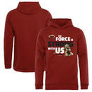 Miami Heat Fanatics Branded Youth Star Wars Jedi Strong Pullover Hoodie - Cardinal