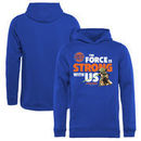 New York Knicks Fanatics Branded Youth Star Wars Jedi Strong Pullover Hoodie - Royal