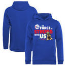 Philadelphia 76ers Fanatics Branded Youth Star Wars Jedi Strong Pullover Hoodie - Royal