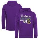 Sacramento Kings Fanatics Branded Youth Star Wars Jedi Strong Pullover Hoodie - Purple