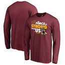 Cleveland Cavaliers Fanatics Branded Star Wars Jedi Strong Long Sleeve T-Shirt - Garnet