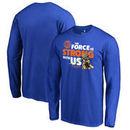 New York Knicks Fanatics Branded Star Wars Jedi Strong Long Sleeve T-Shirt - Royal