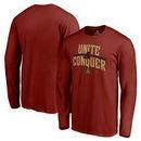 Atlanta United FC Fanatics Branded Unite & Conquer Long Sleeve T-Shirt - Cardinal