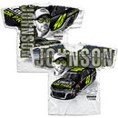 Jimmie Johnson Hendrick Motorsports Team Collection Lowe's Total Print T-Shirt – White