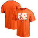Cleveland Browns NFL Pro Line by Fanatics Branded Hometown Collection Big & Tall T-Shirt - Orange