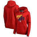 New York Red Bulls Fanatics Branded Women's Fight Pullover Hoodie - Red