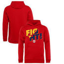 New York Red Bulls Fanatics Branded Youth Fight Pullover Hoodie - Red