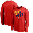 New York Red Bulls Fanatics Branded Fight Long Sleeve T-Shirt - Red