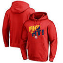 New York Red Bulls Fanatics Branded Fight Pullover Hoodie - Red