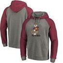 Minnesota Golden Gophers Fanatics Branded College Vault Primary Logo Tri-Blend Raglan Pullover Hoodie - Ash